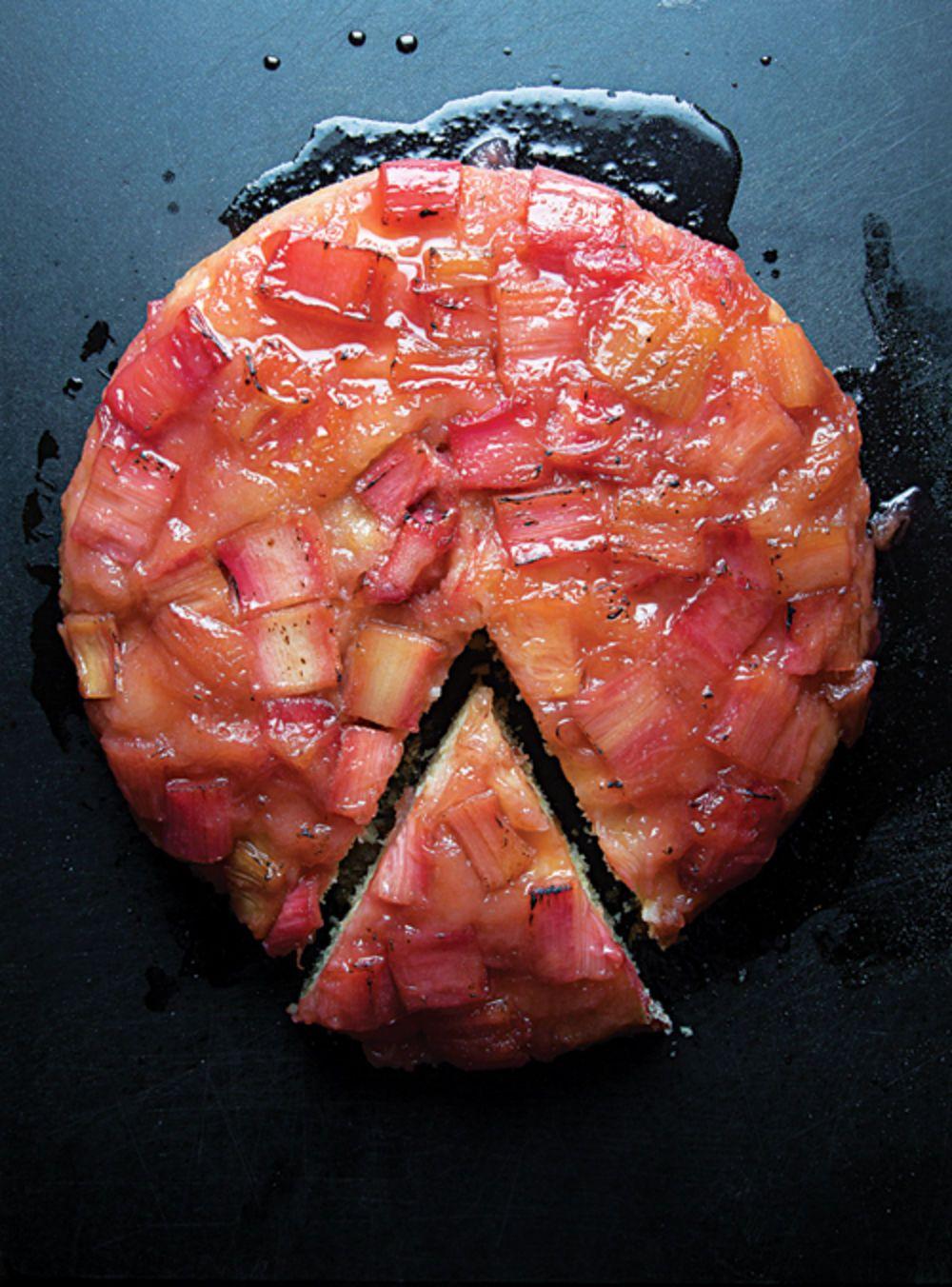 Rhubarb Tarte Tatin