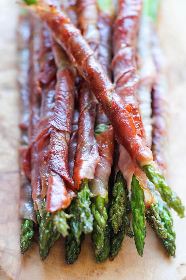 prosciutto asparagus