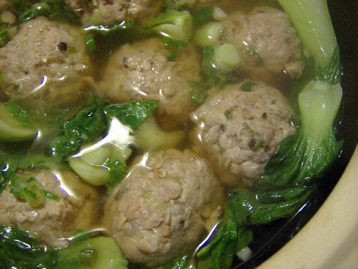 pork meatball soup