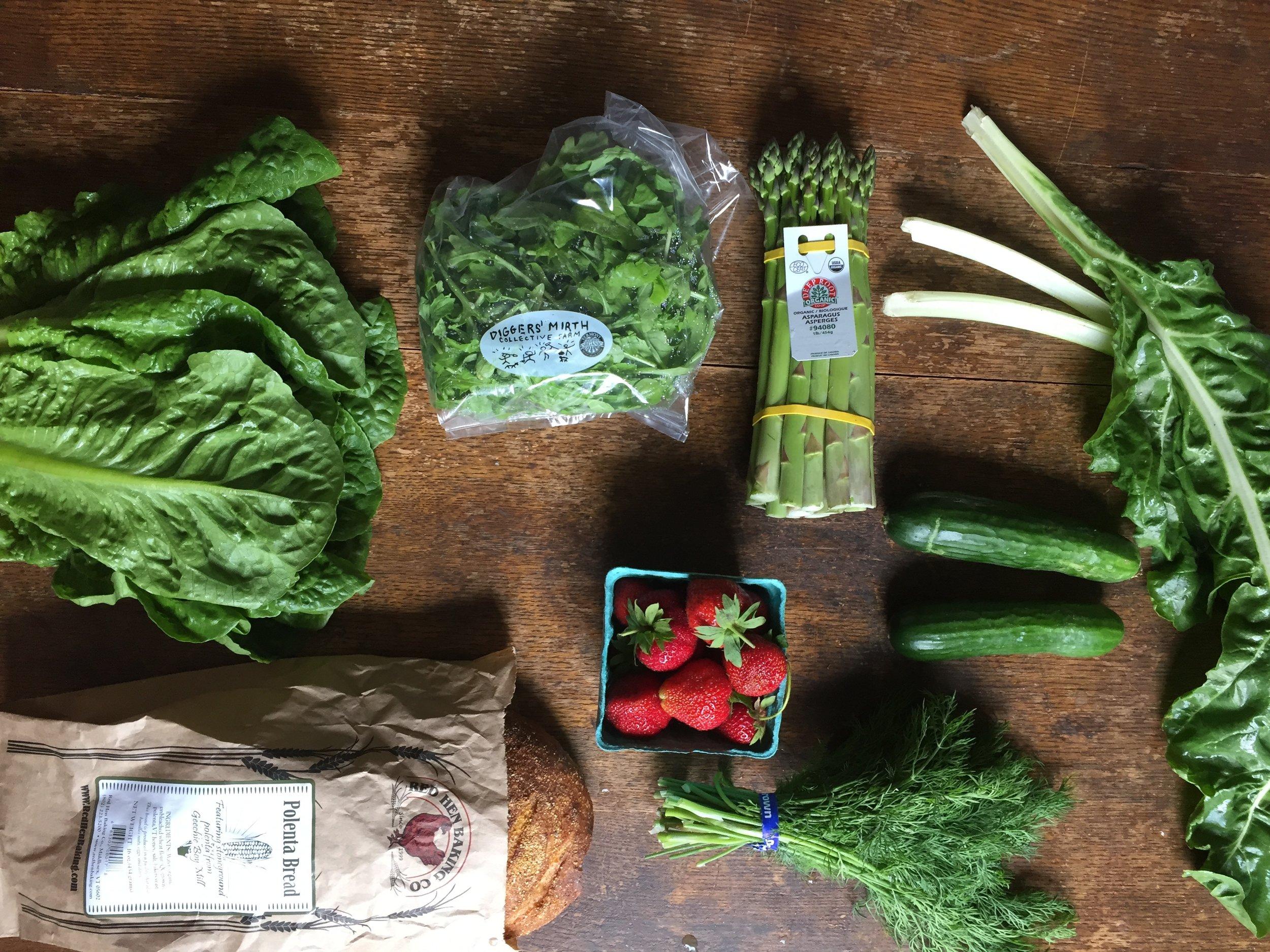 Interavle Food Hub Summer 2017 Week 3 Vermont Vegetable