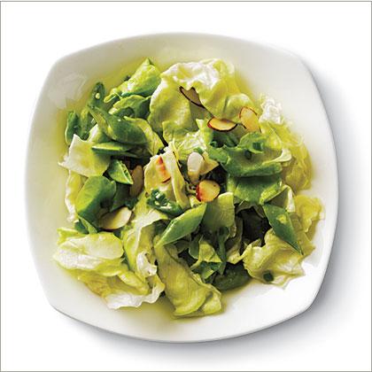lemony sugar snap salad