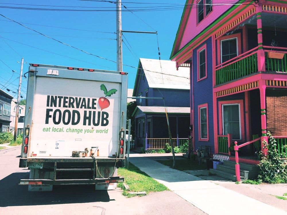 intervale food hub delivery in Burlington