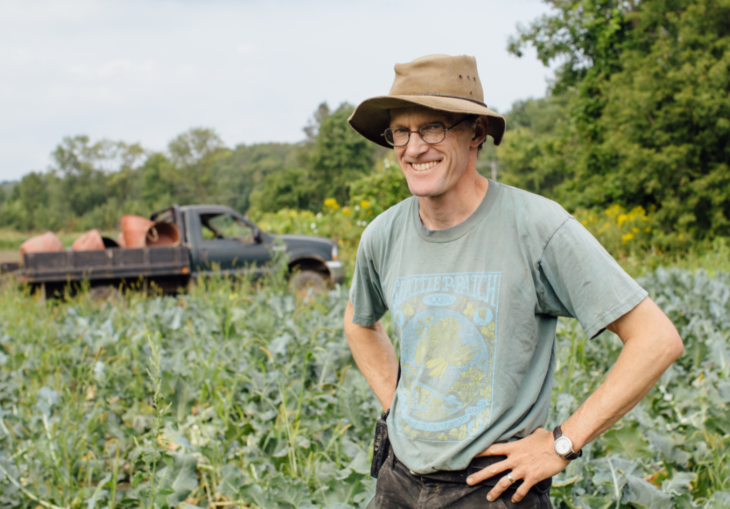 Andy Jones of Intervale Community Farm