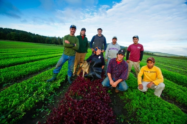The Pete's Greens Crew in Craftsbury, VT