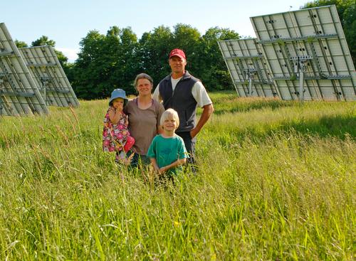 The Jericho Settler's Farm Family