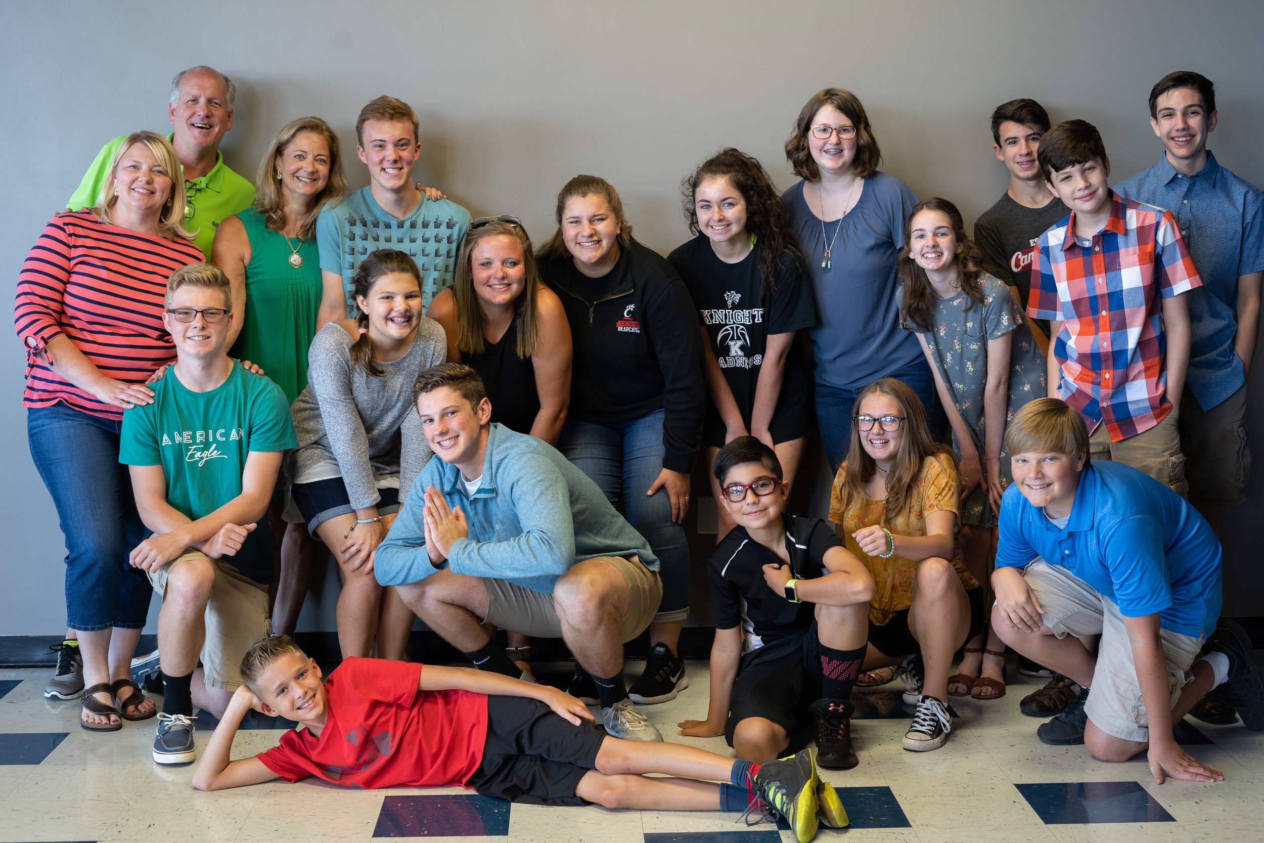 VENTURE STUDENTS - Weekly activities for teens in 6th-12th grade are back for the Fall! We're committed to providing a fun place for students to connect with God, with other students, and with trustworthy leaders that are dedicated to seeing students grow closer to Jesus.