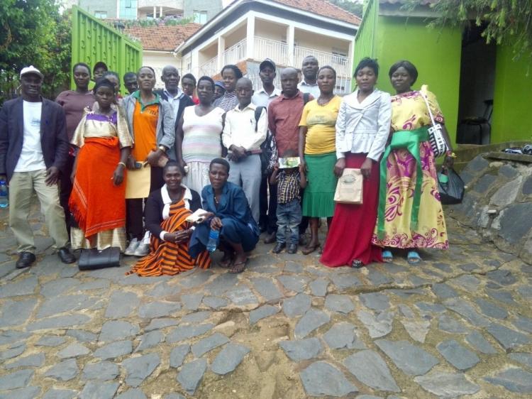 Group photo at the NOGAMU visit.