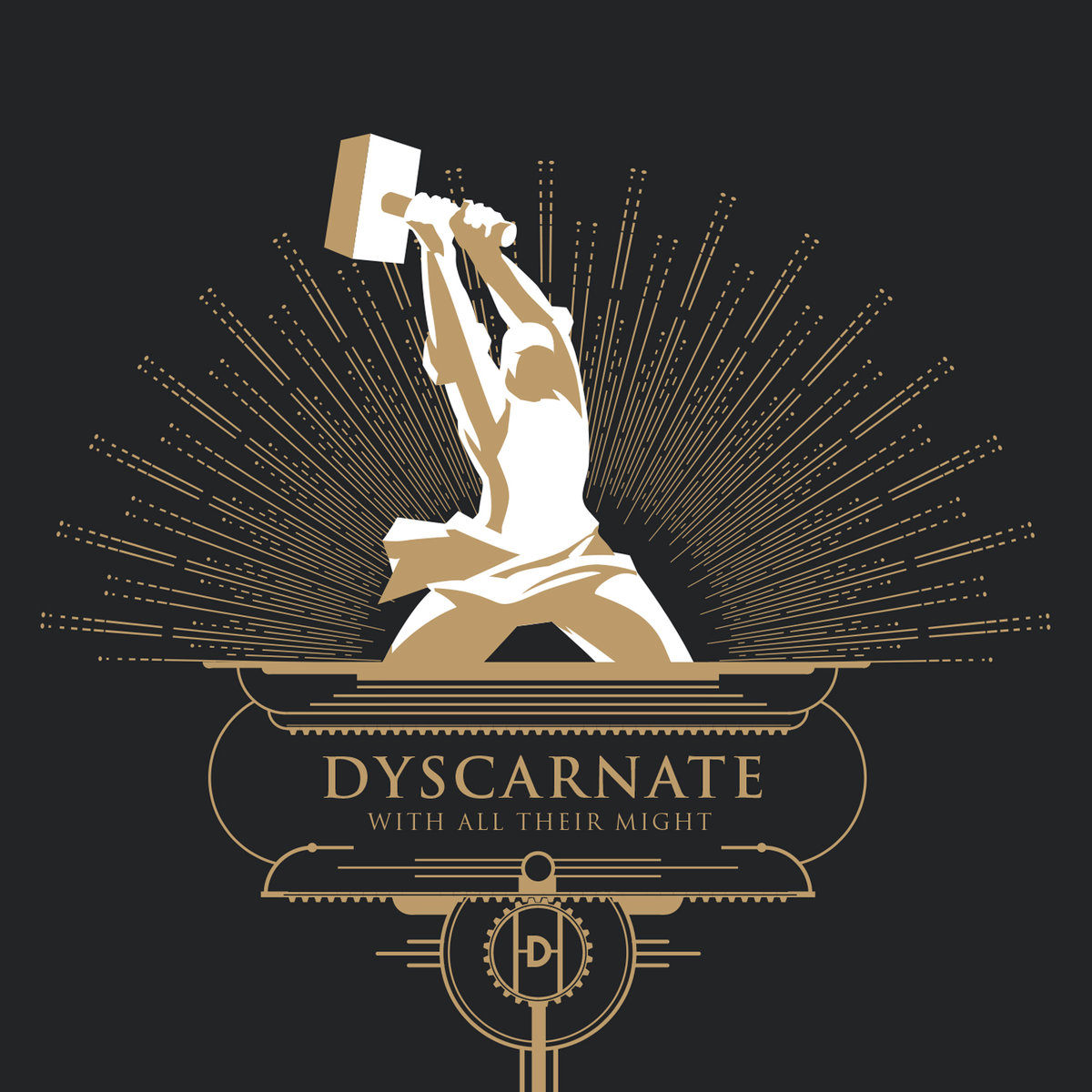 16. Dyscarnate - With all their Might - Although #16 on my list, With All Their Might wins the competition for Best Gym Music of 2017 as well as Best Music to Break Something and/or Everything. Admittedly, I'm not a big fan of self-styled