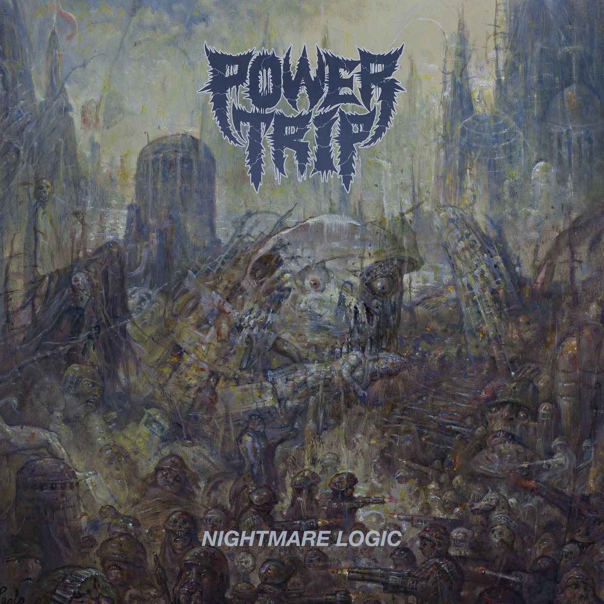 10. Power Trip - Nightmare Logic - These guys have come a long way since I saw them ~8 years ago at the old Emos in Austin, TX. Nightmare Logic is a catchy, catchy thrash metal album, plain and simple. Chunky guitars, neck-snapping riffs, in-your-face drumbeats, politically charged lyrics, and an