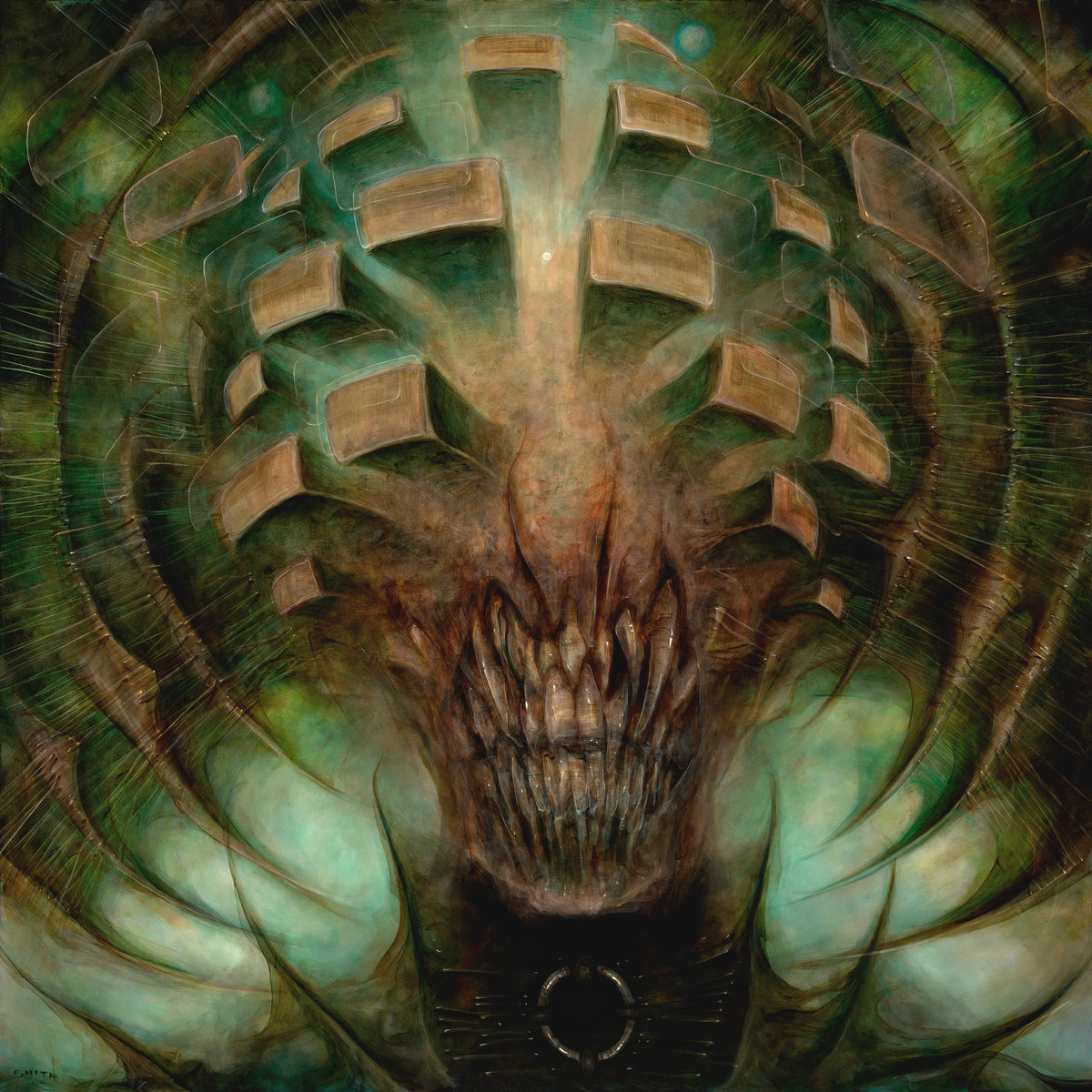 13. Horrendous - Idol - While this is not Anerata (IMO their finest hour), Horrendous plunge forward in their exploration of progressive-tinged, old school death metal with Idol. The nods to Atheist, Death, and Cynic are still present in the sound (e.g. plopping bass) and songwriting (e.g. jazzy, jerky structures) but Idol is fresh, original, and quite simply a highly entertaining slab of metal.