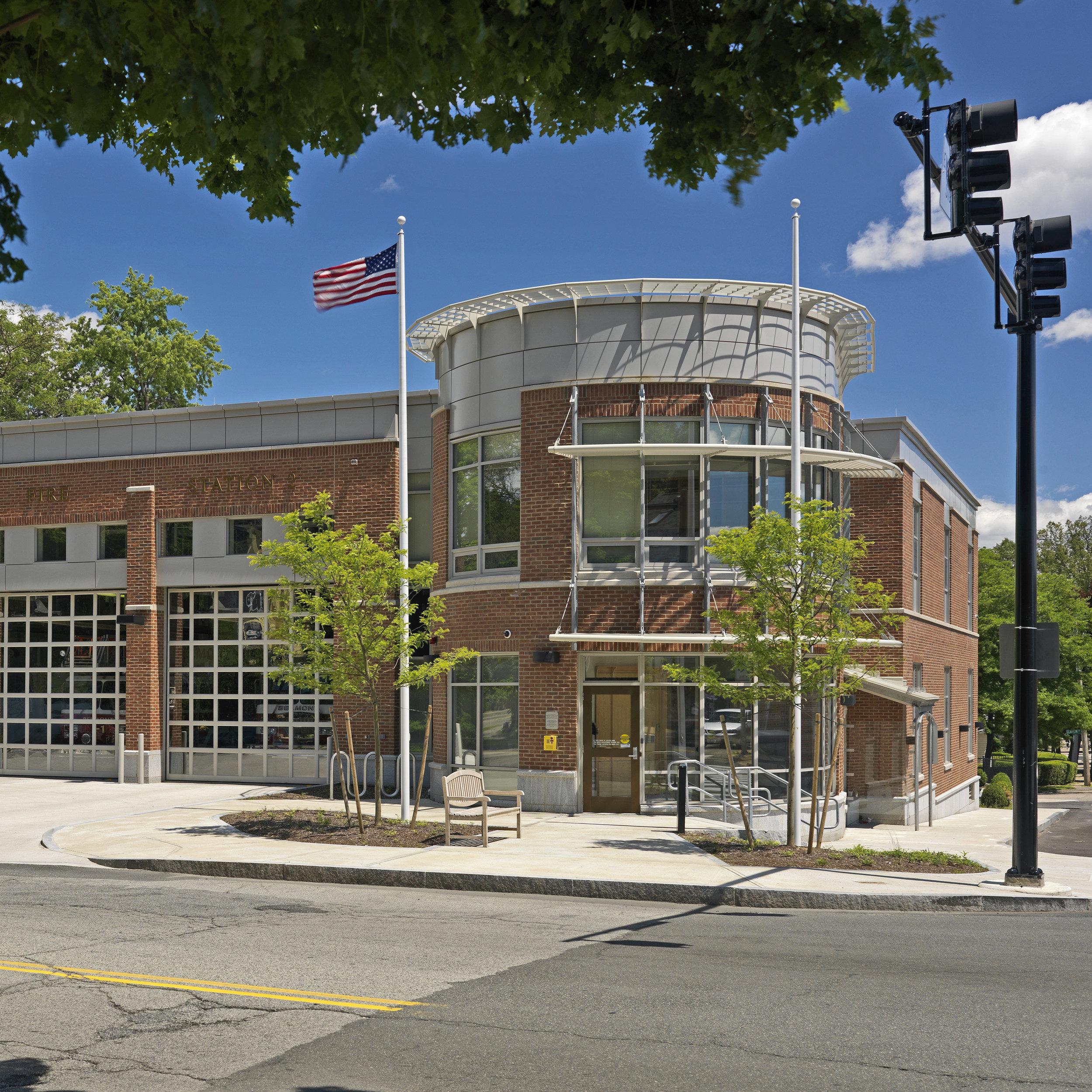 Belmont Fire HQ & Substation -