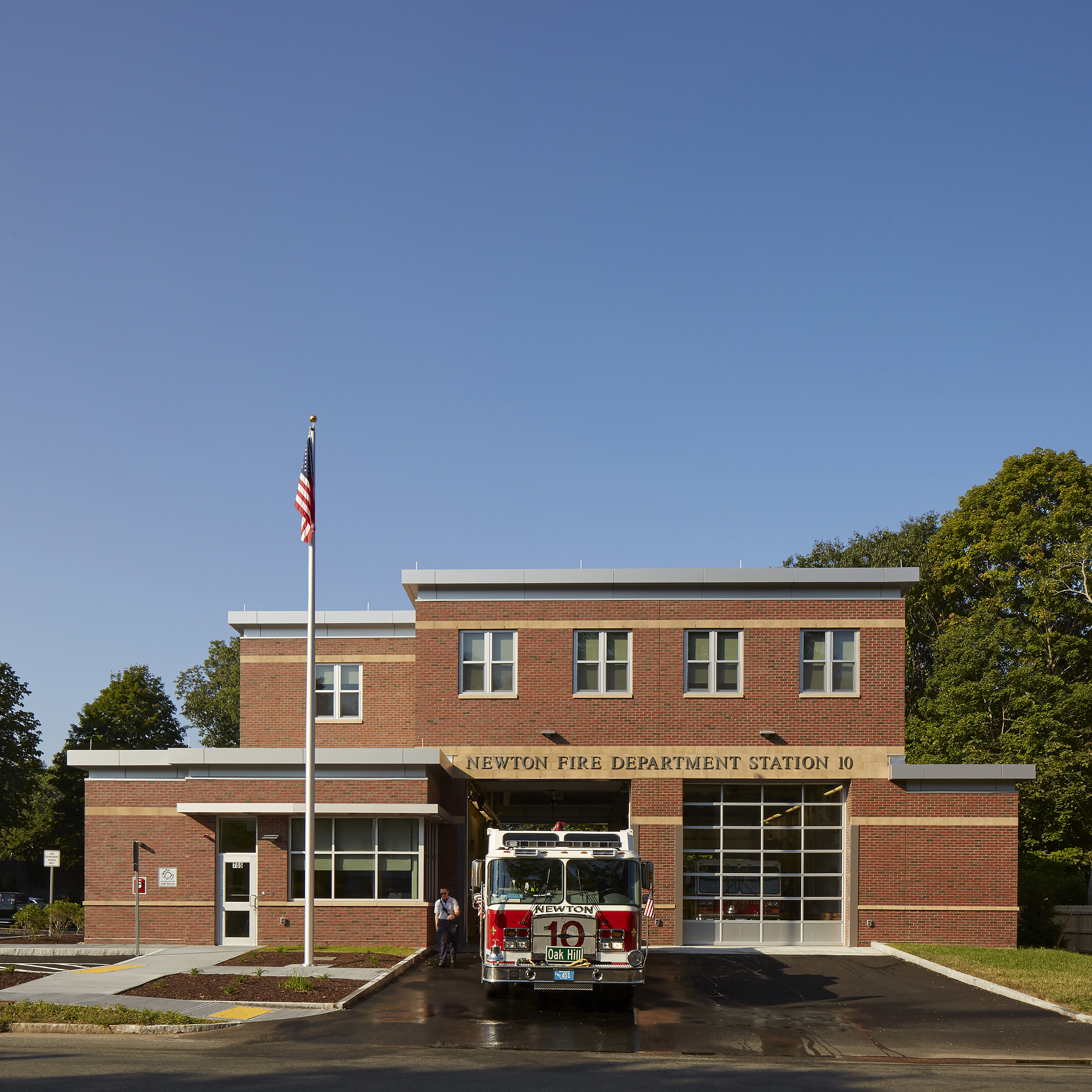 Newton Fire Station #10 -