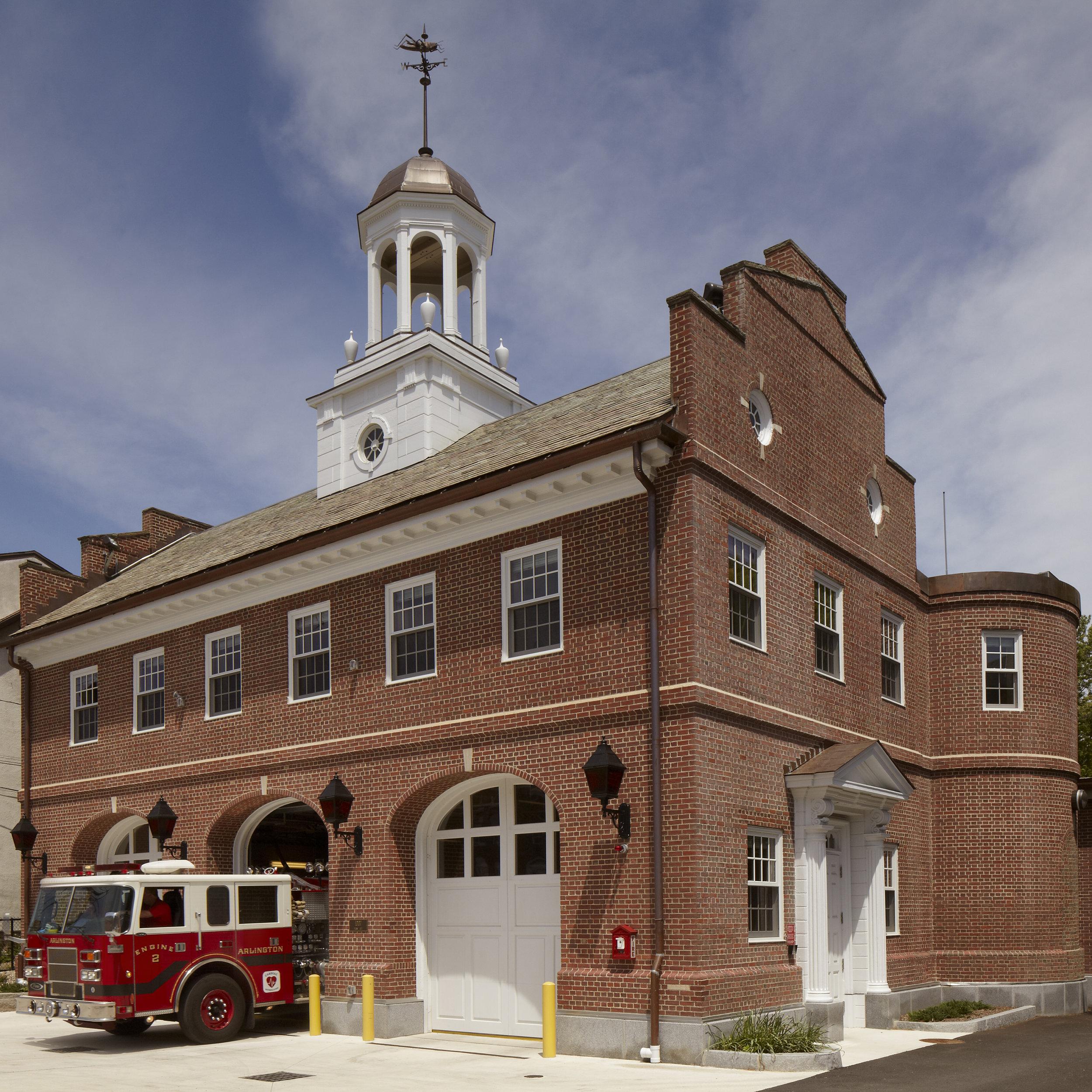 Arlington Highland Fire Station -