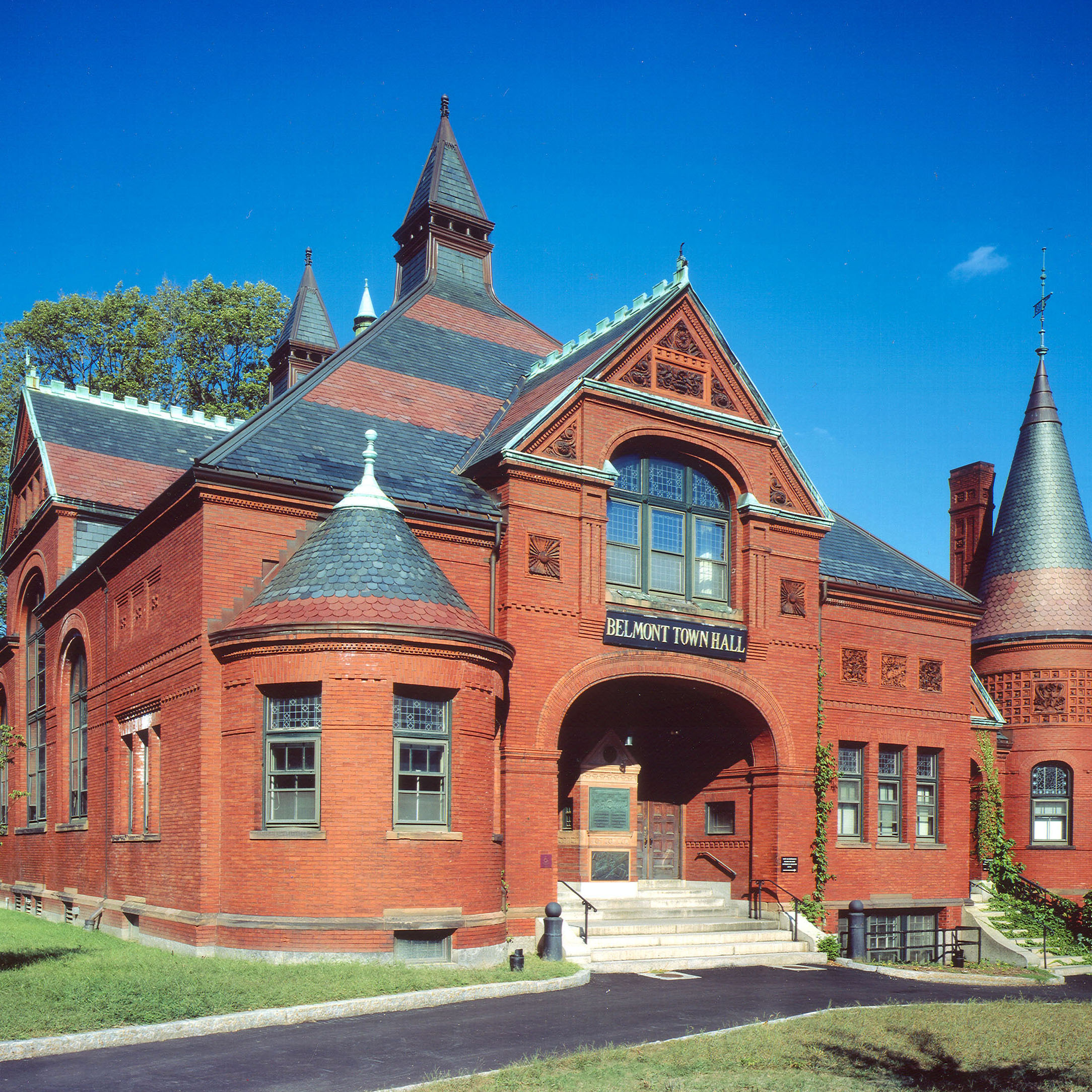 Belmont Town Hall -