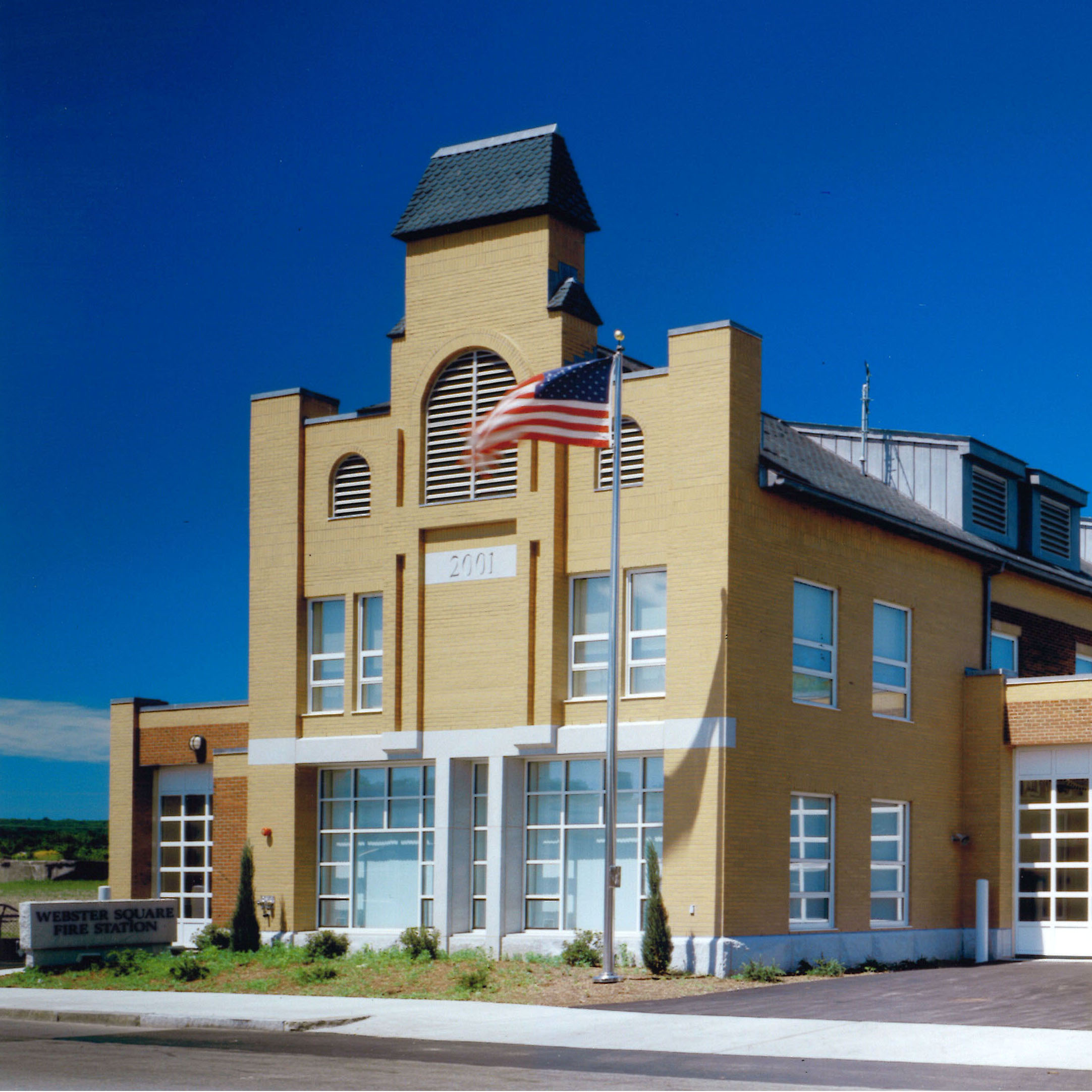 Worcester Webster Square Fire Station -