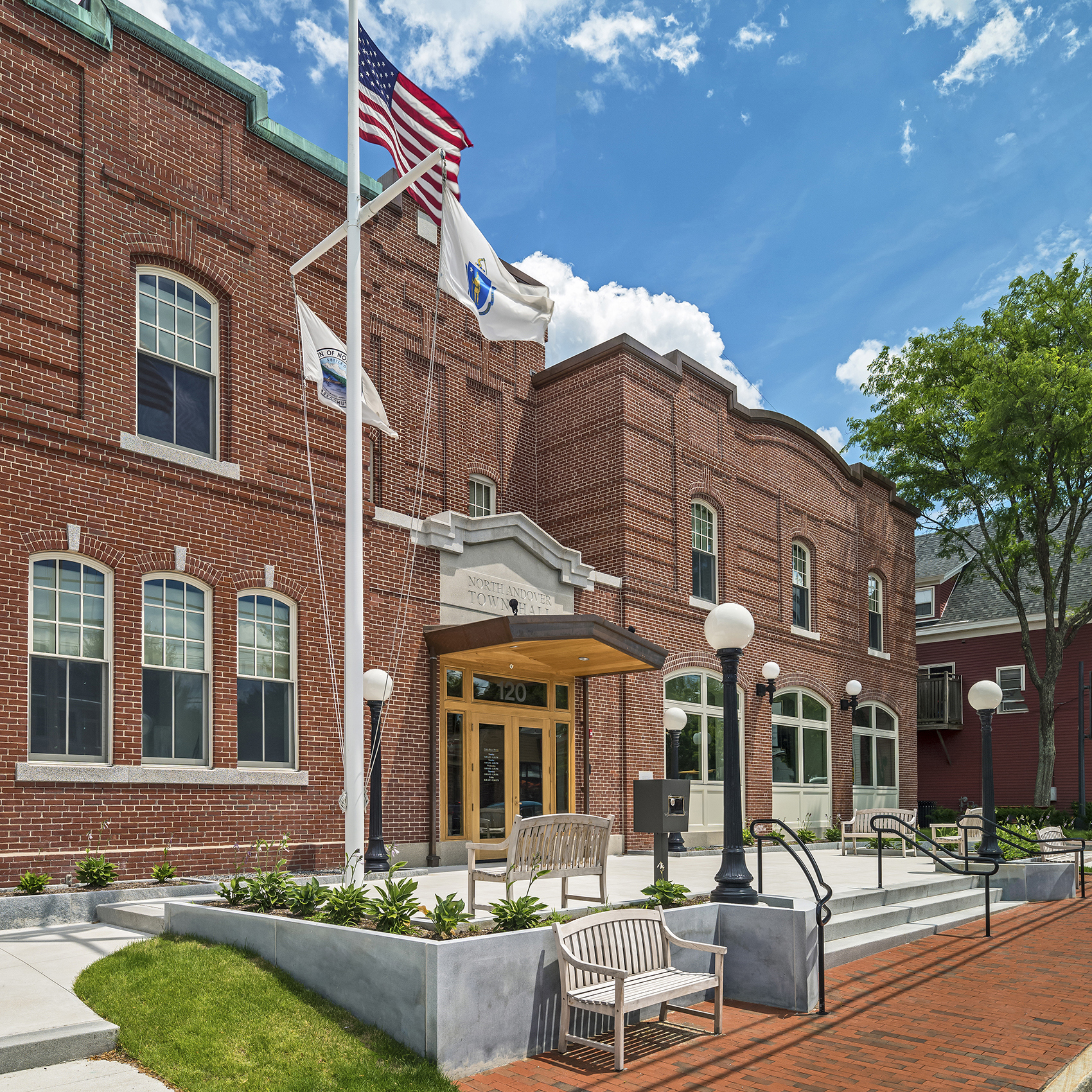 North Andover Town Hall -