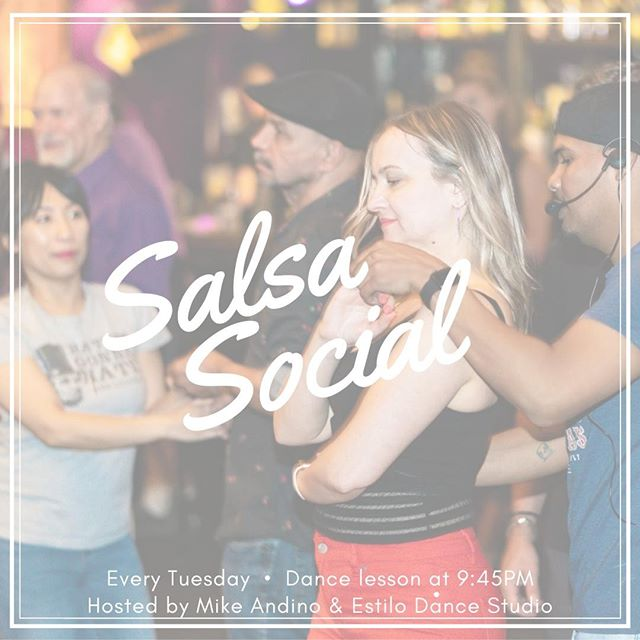 Strap on your dancing shoes and head over to #LuchaCartelPhilly esta noche (tonight)! After that day off yesterday it's time to shake off the extra energy and those back to work blues 🕺 . . . #SalsaSocial #SalsaDancing #DanceLesson #OldCityPhilly #Salsa #Bailamos #TuesdayNight