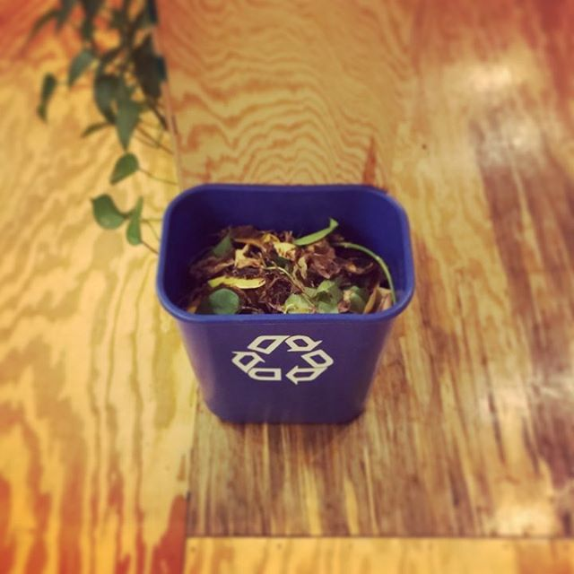 We even recycle leaves @spacecoworking .  #compost in SPACE.  #getbacktowork