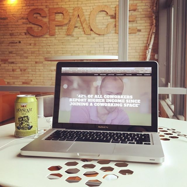 Like this? ...then your going to love Friday's at @spacecoworking  #dontgetbacktowork it's Friday #hopslam
