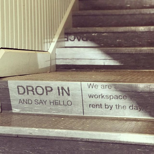 Morning reflection, now #gettowork at @spacecoworking