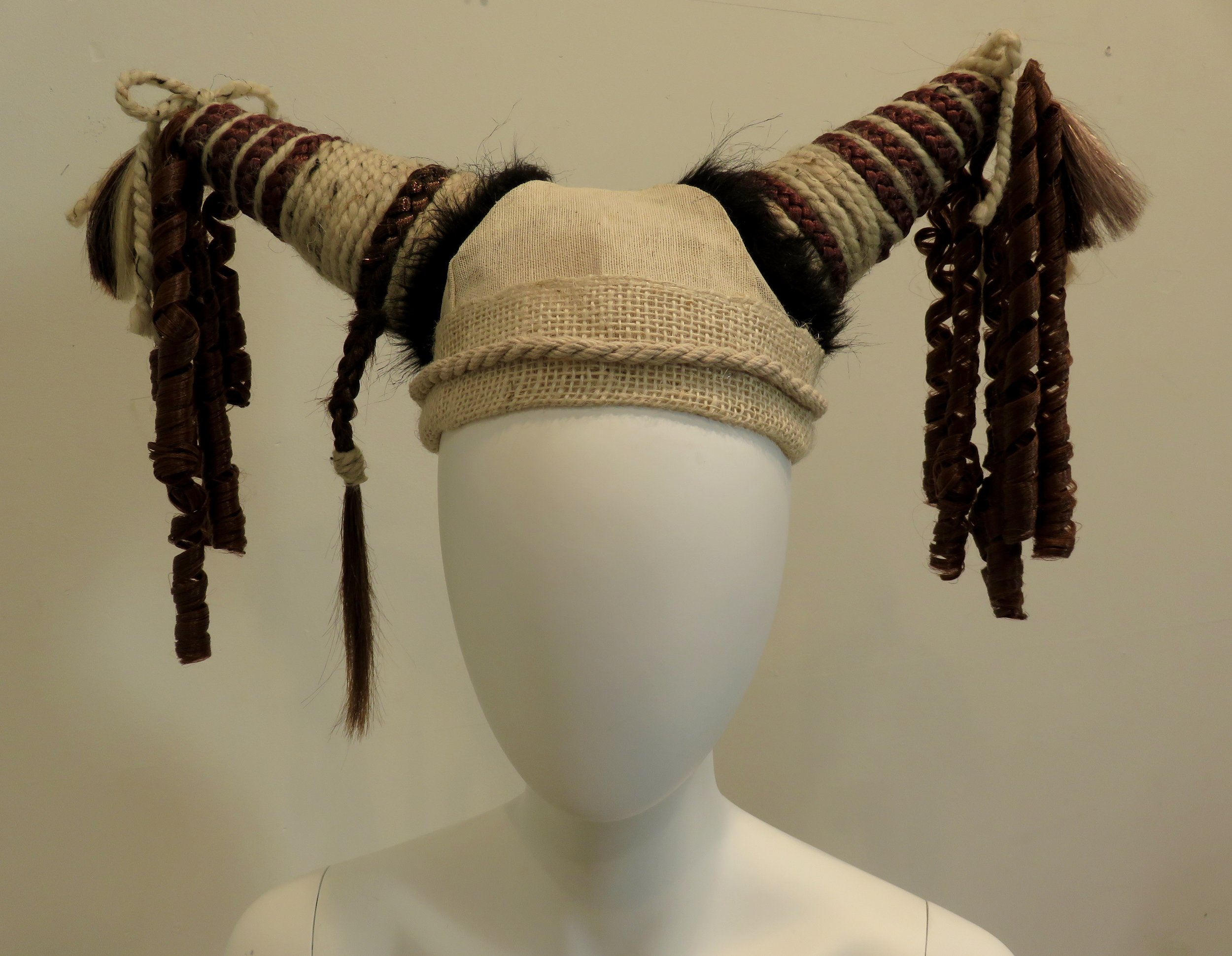 Hair Hat, 2016. Mixed Media
