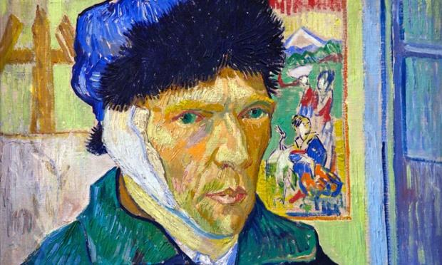 Self-portrait with Bandaged Ear, by Vincent van Gogh, .jpeg