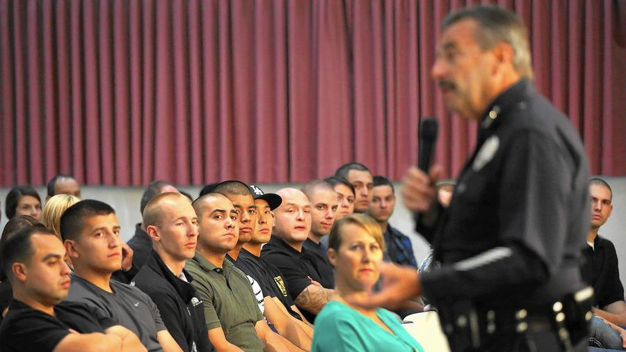 LAPD Police Chief Charlie Beck discusses more humane and effective ways to diffuse crisis situations.