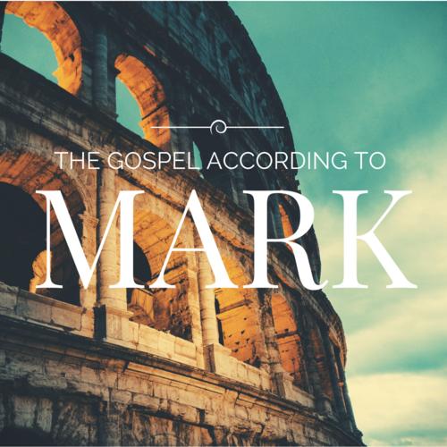 The Gospel According to Mark - _____