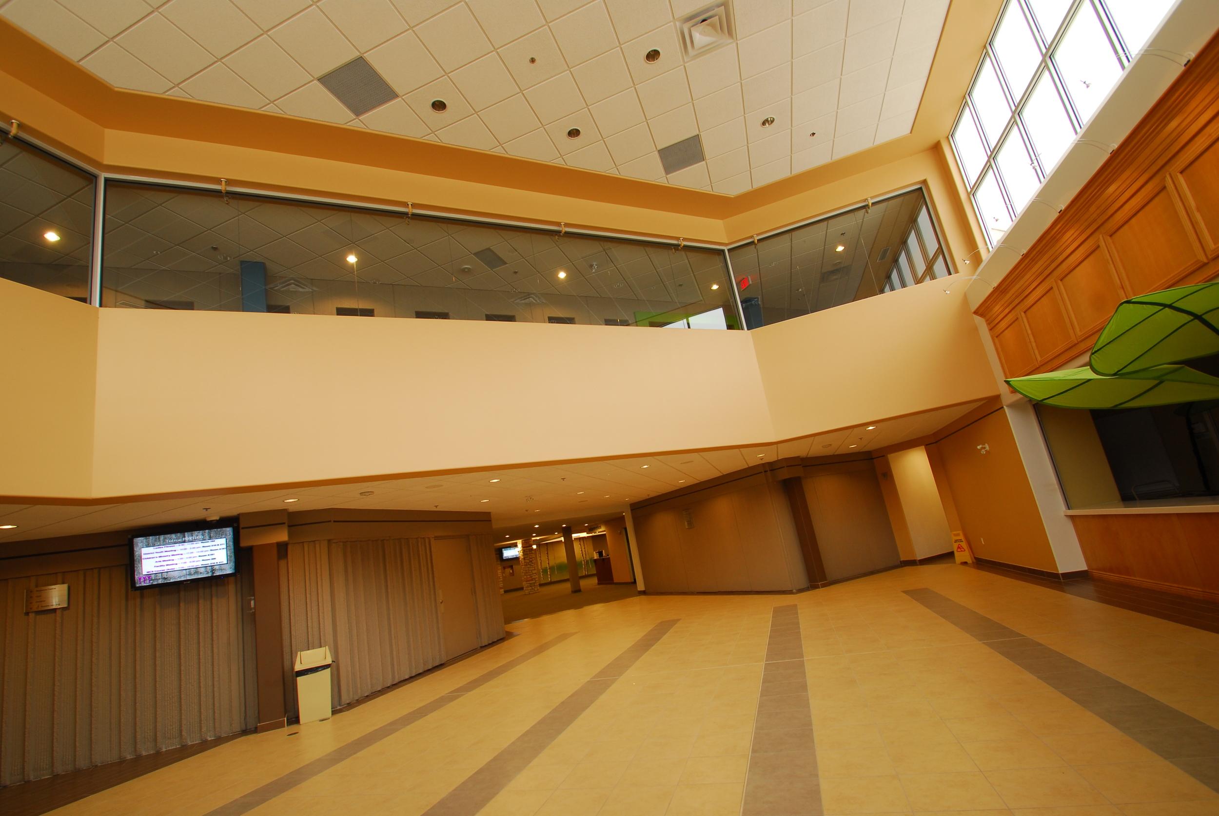 Portico Community Church Foyer