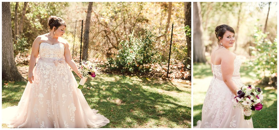 Bridal Portraits in the beautiful gardens of the Lions park in Carpinteria