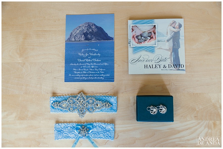 Her stationery was lovely and inspired by Morro Bay beach