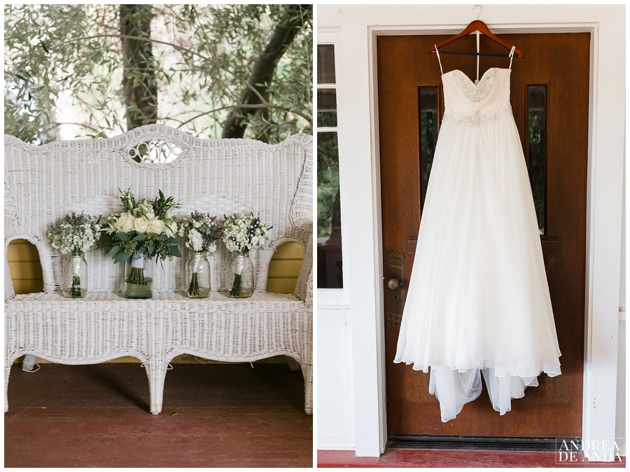 Sarah's beautiful dress was perfect for the occasion, flowy & dreamy from Kay's Bridal in Simi Valley Designer  Mori Lee