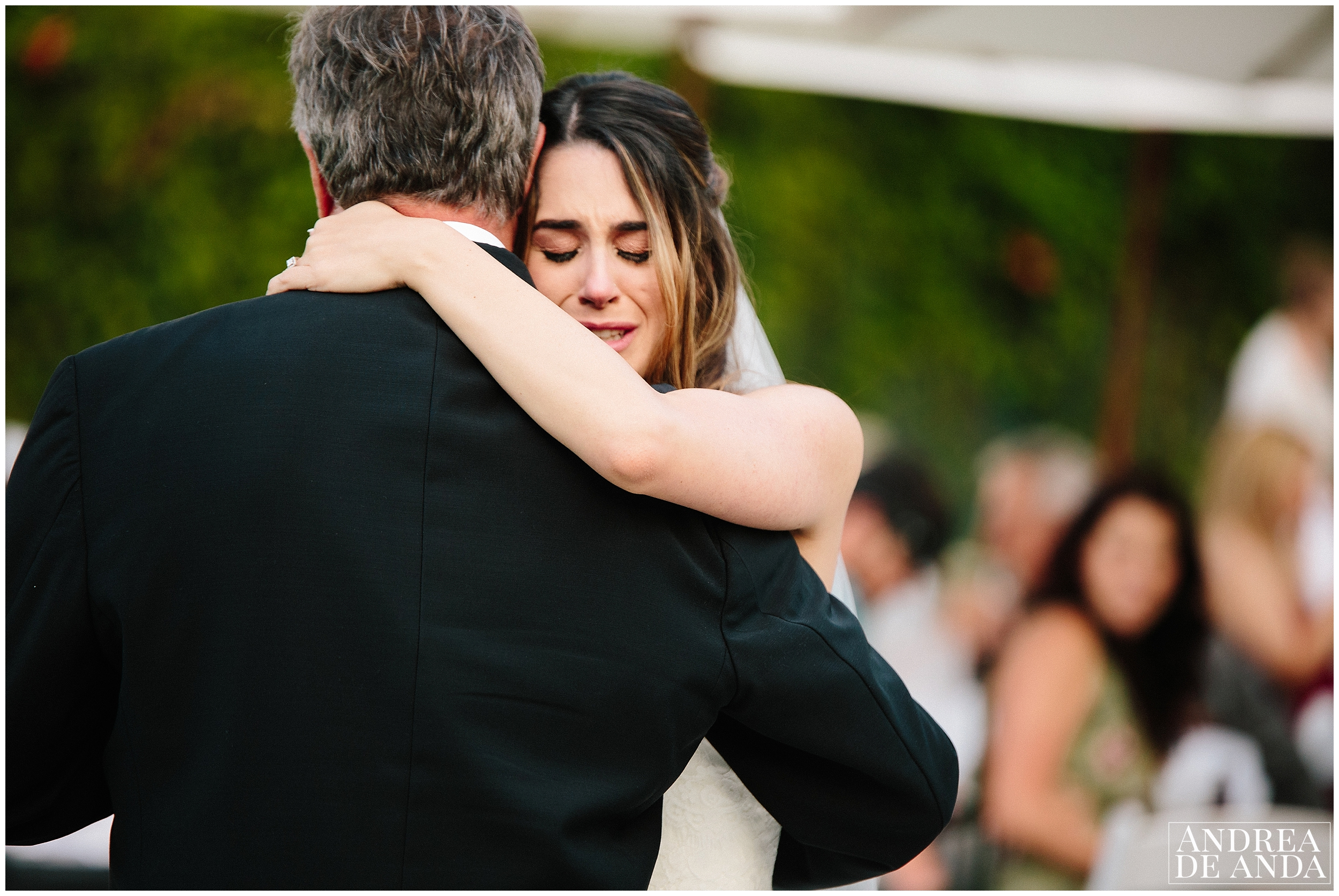 Father daughter dance Secret Garden wedding ceremony Madonna Inn wedding. San Luis Obispo Wedding Photographer