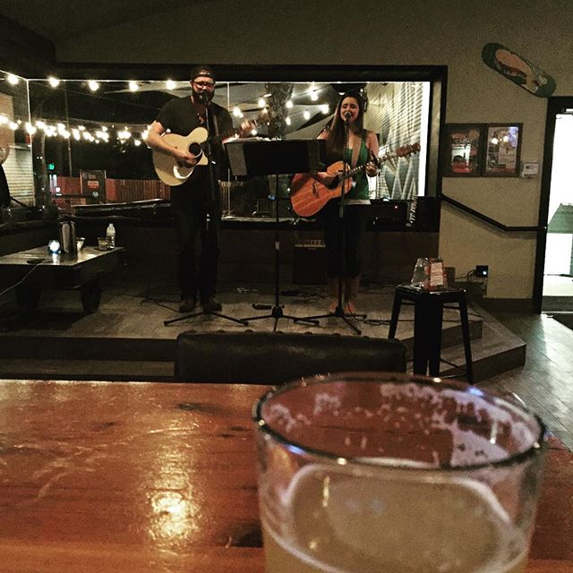 Jacob and Chelsea from The Cover Letter at Bungalow! So good. :) #austinmusic #austin #atx #atxmusic