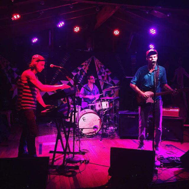 Blue Healer taking the stage at Cheer Up Charlie's! We got to sit down and chat with the trio before their set! #AustinMusic #Austin #atx #ATXmusic