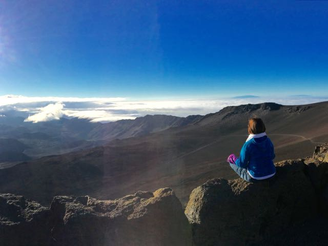 © Photo by Chris Utley. Sunrise at Haleakala National Park, Maui, 2014