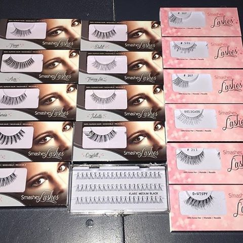 Looking forward to the lash pics @makeupbynkc - so glad you live our lashwear! #lashgamestrong #2017 #wispylashes #beauty #atlanta #makeupaddict