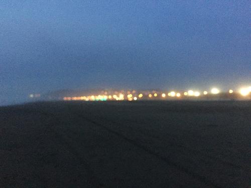Ocean Beach is a city beach. 5:44 p.m.