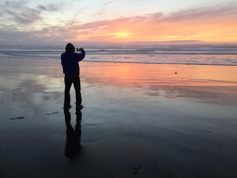 Ocean Beach  5:50 p.m.