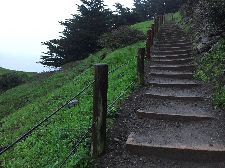 Coastal Trail  7:10 p.m.  REALLY 6:10!!!