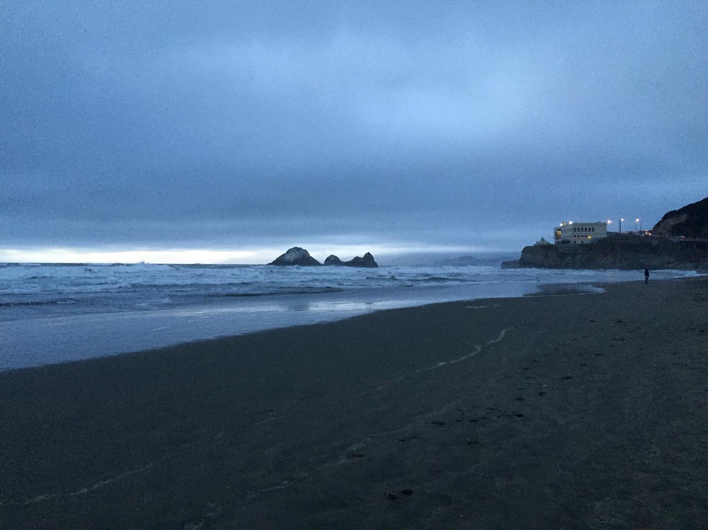 Ocean Beach  7:45 p.m.