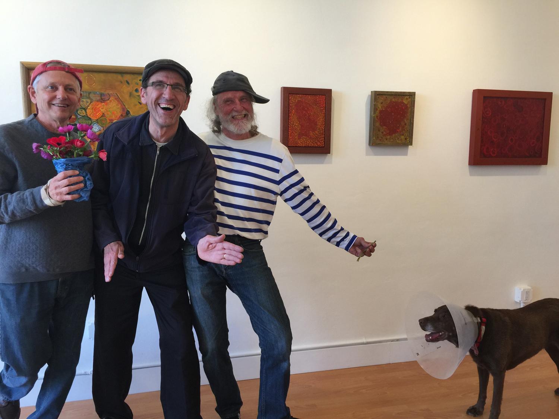 Tom, Karim, Peter, and Carmen at  FOG