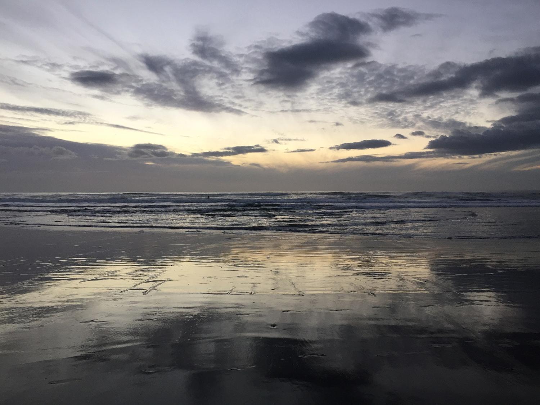 Ocean Beach  5:01 pm