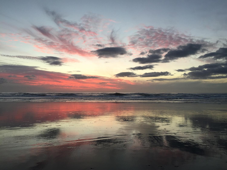 Ocean Beach  5:05 pm