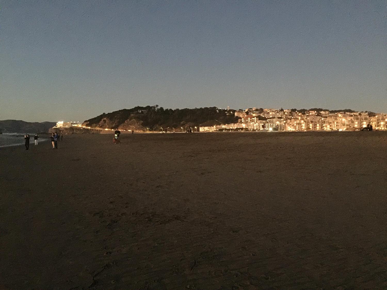 Ocean Beach  5:34 pm