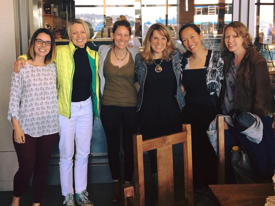 Emily , me,  Cindy ,  Meg ,  Katrina ,  Keely