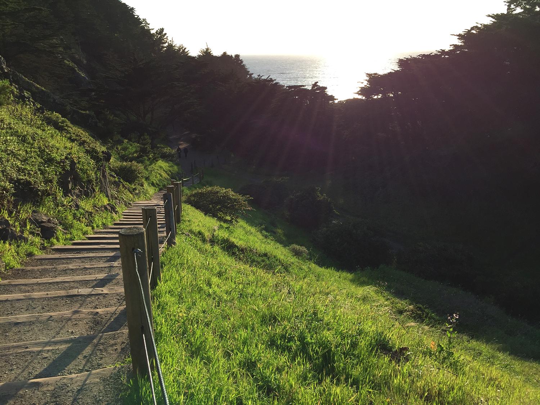 Coastal Trail  6:50 pm