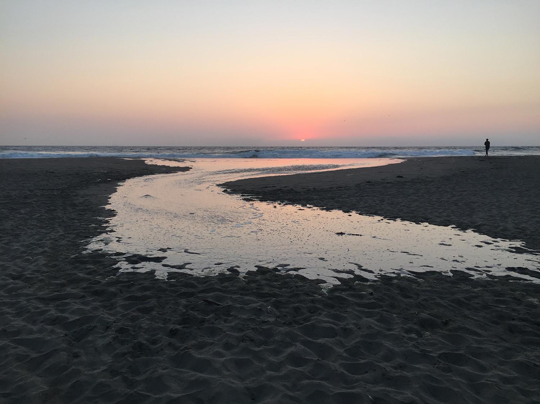 Ocean Beach  7:55 pm