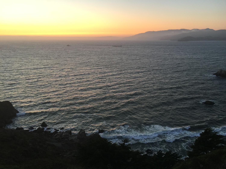 The Coastal Trail  7:52 pm