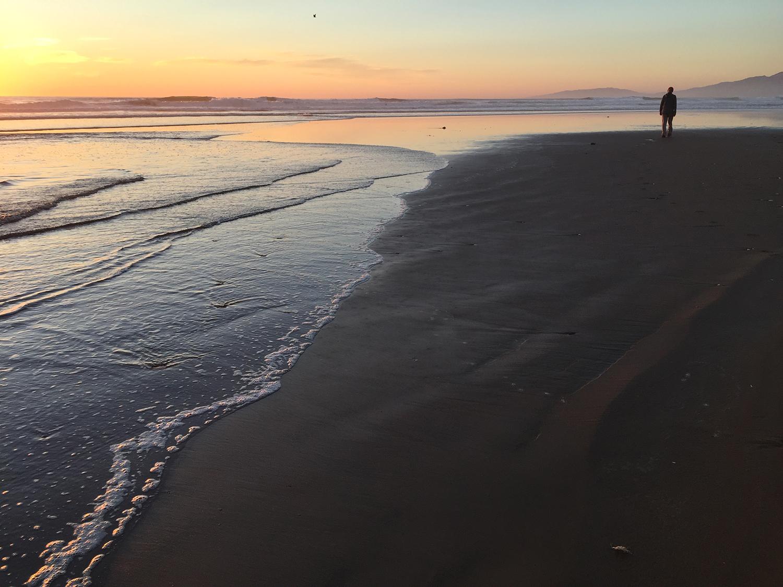 Ocean Beach  6:38 PM